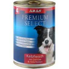 ARAS PREMIUM SELECT консервы для собак «Телятина, овощи и овсяные хлопья» 410 г